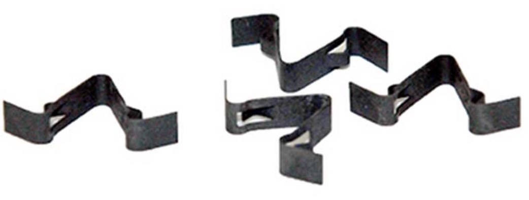 1965-1966 Mustang Defroster Duct Clips - 4Pc