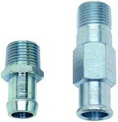 "1964-1972 Heater Hose Fitting Set (5/8""X1-3/4"", 3/4""X2-7/8"") - PR"