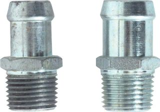 "1964-1972 Heater Hose Fitting Set (5/8""X1-3/4"", 3/4""X1-3/4"") - PR"