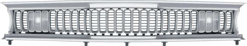 1971-1972 Sharktooth Grill Complete Assembly (Duster 340)