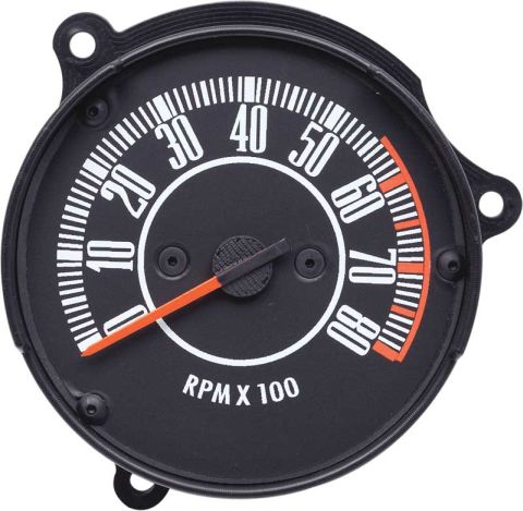 Barracuda Parts - 1967-1969 Rallye Dash Tachometer (0@8 o