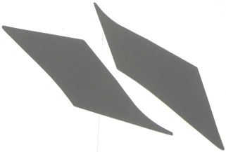 1970-1971 Uncovered Sail Panels Boards (Duster) - PR
