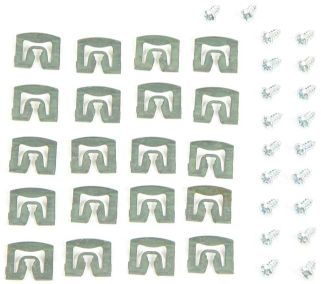 1971-1974 Rear Window Molding Clip Set - 40PC