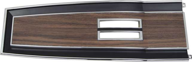 1969-1970 Console Top Plate - Automatic