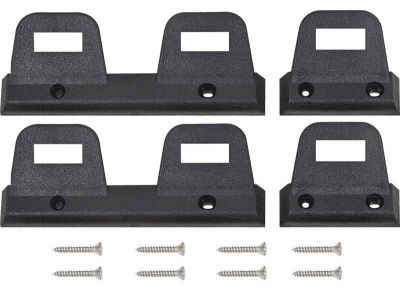 1968-1969 Seat Belt Retaining Clip (Bench) - Set