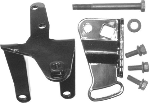 1966-1969 Power Steering Bracket Set (TRW,HEMI/Big Block)