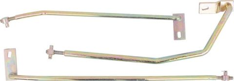 1970-1972 Manual Transmission Shifter Rod Set
