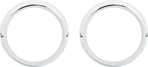 1970-1971 Road Lamp Bezel Set - PR