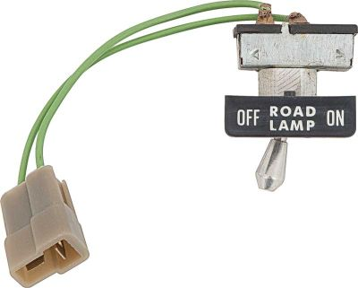 1970 Road Lamp Switch w/Bezel
