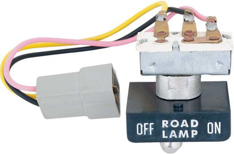 1971 Road Lamp Switch w/Bezel