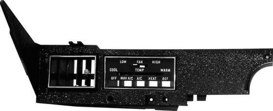 Challenger Parts Heater Controls