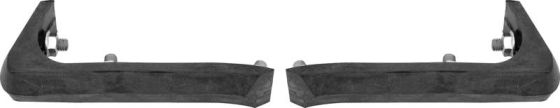 1967-1969 Bumper Guard Cushions (Front/Rear) - PR