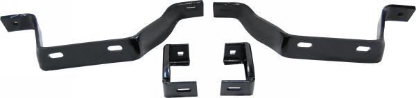 1967-1969 Bumper Bracket Set (Rear) - 4PC