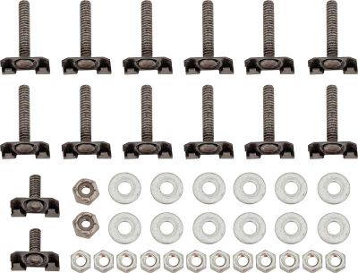 1969 Trunk Finish Panel Mounting Hardware Set