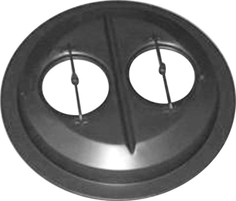 1966-1969 Hemi Chrome Dome Air Cleaner Base (dual 4bbl)