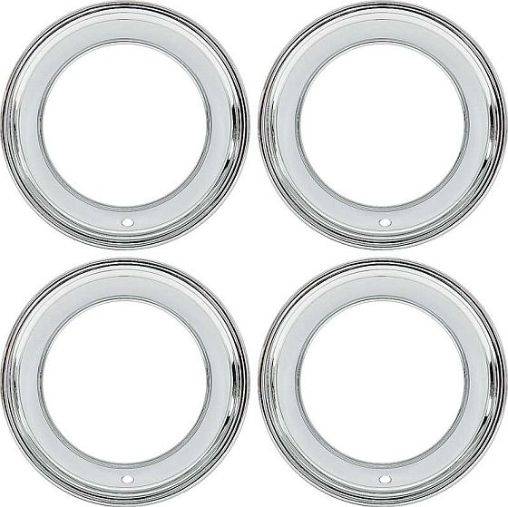Challenger Parts - 1970-1974 Deep Dish Trim Rings w ...