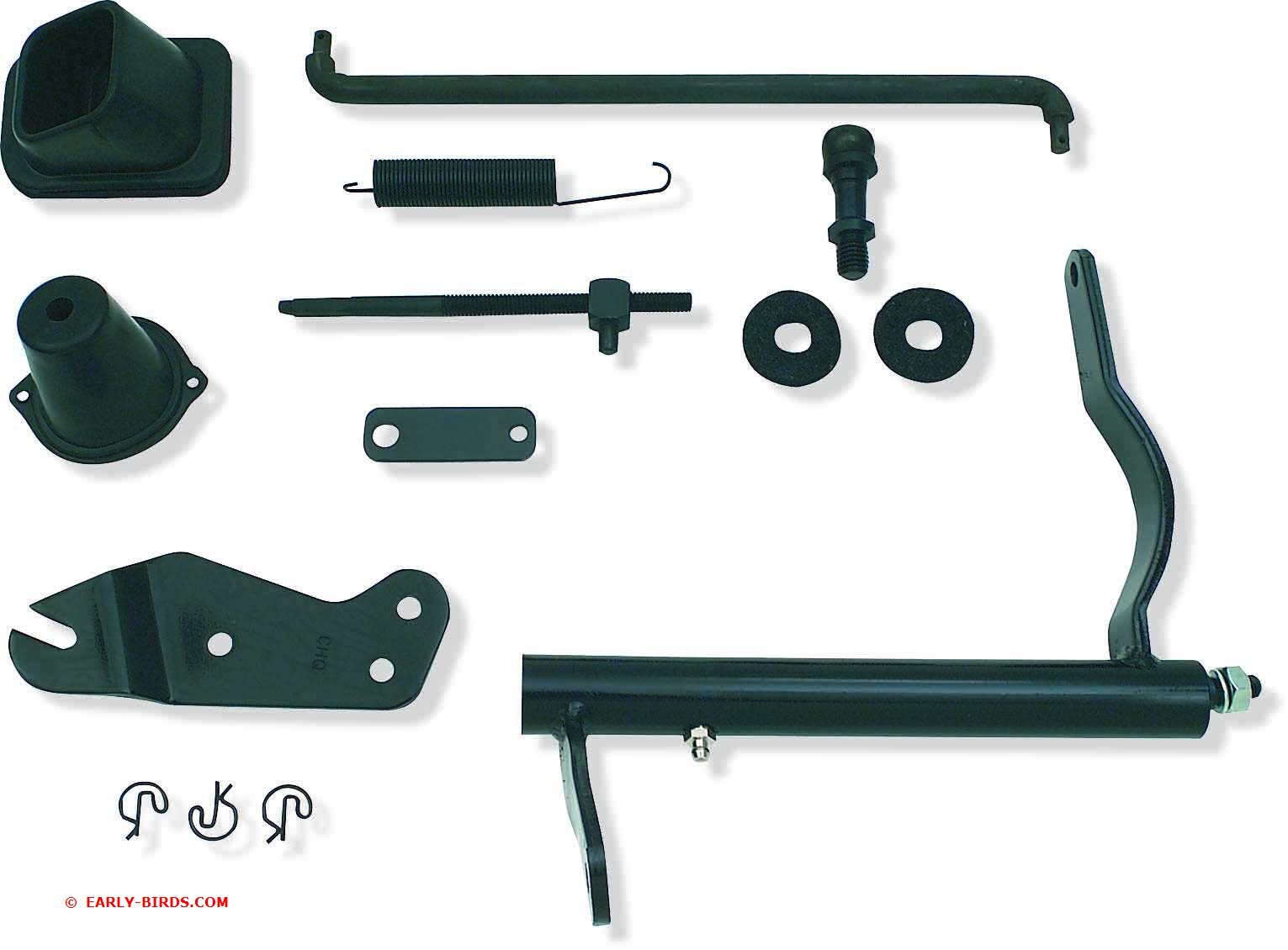 1967-1972 M/T Big Block Clutch Linkage Kit