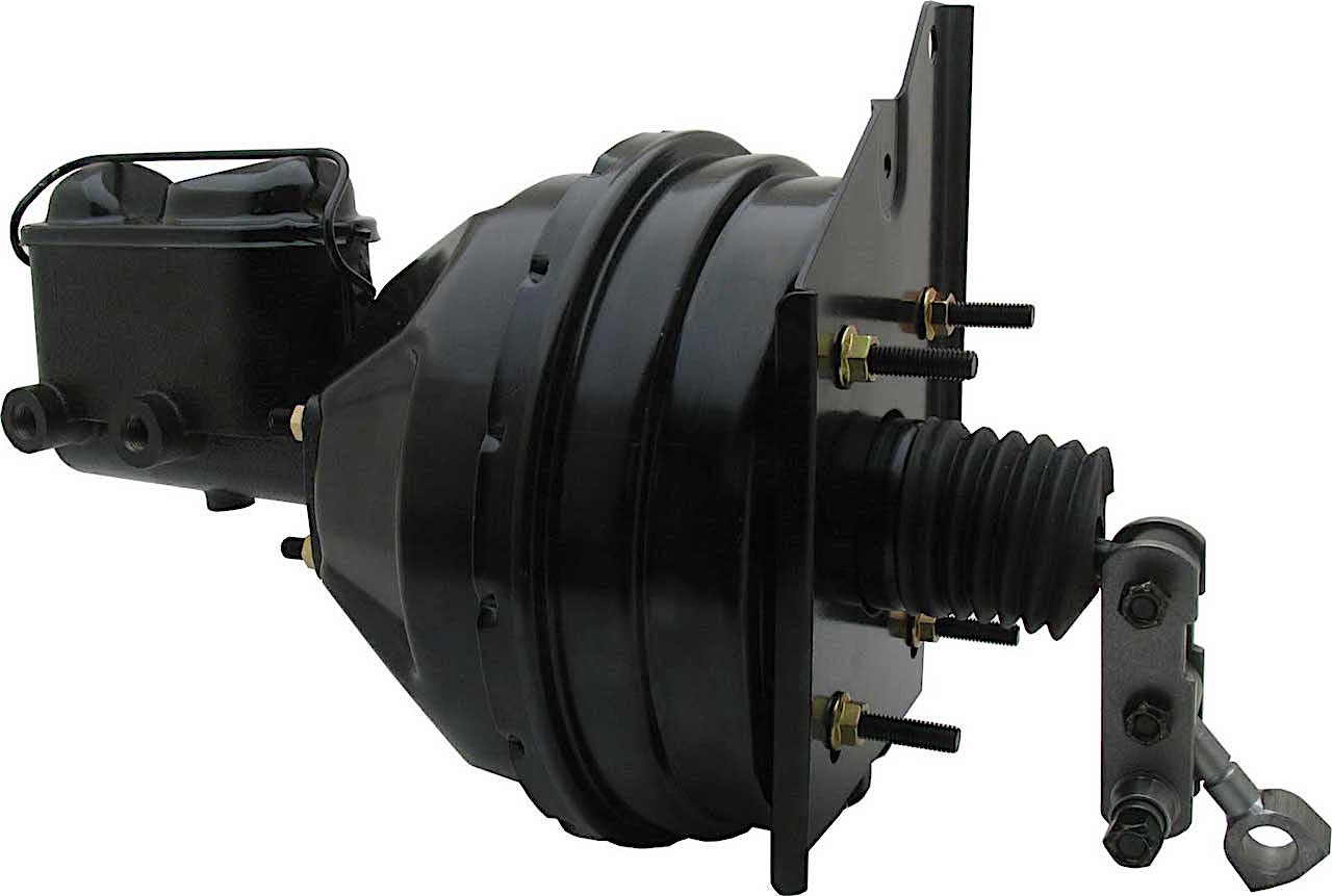 1966-1970 Power Brake Booster Conversion Kit, Disc/Drum applications (w/o proportioning valve)