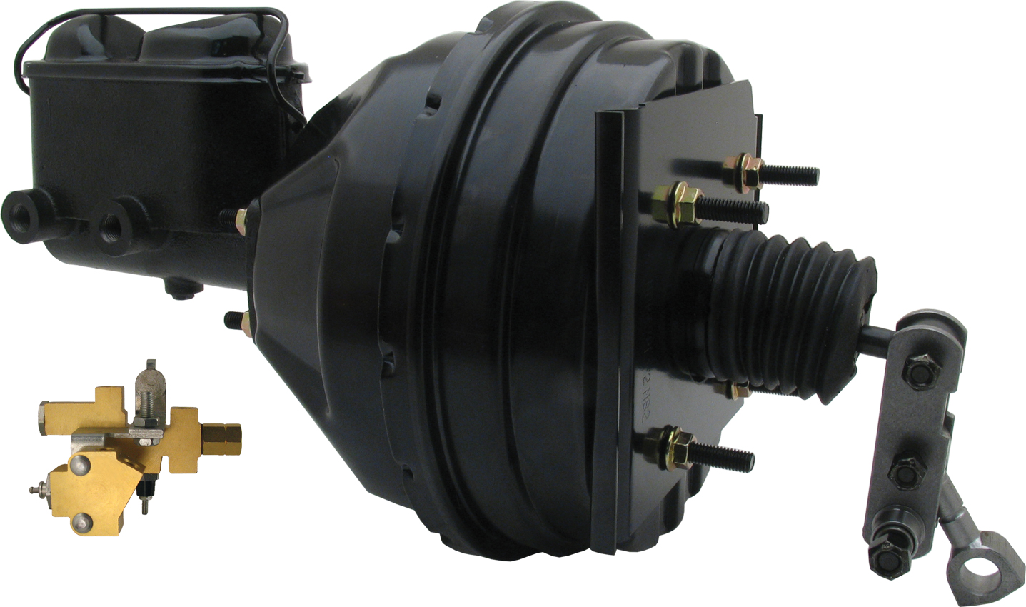 1966-1970 Power Brake Booster Conversion Kit, Disc/Drum applications (w/proportioning valve)