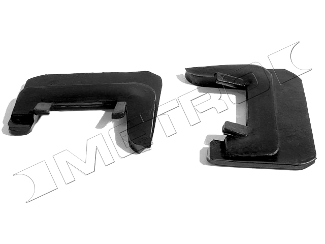 1964-1967 Rear Quarter Window Seals (Convertible) - PR