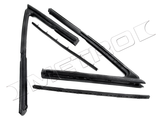 1964-1967 Vent Window Seals (2 Dr Sedan) - PR