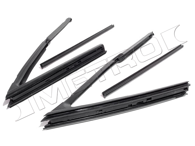 1964-1965 Vent Window Seals (2 Dr Hardtop/Convertible) - PR