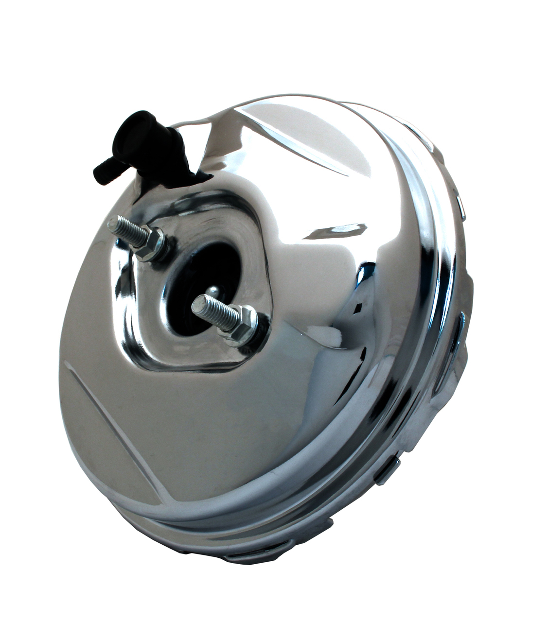 "1964-1966 Delco Style Brake Booster 9"" Chrome (Single Diaphragm)"