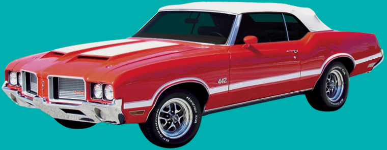 Cutlass Parts - 1970-1972 Oldsmobile 442 Stencil Kit (W30