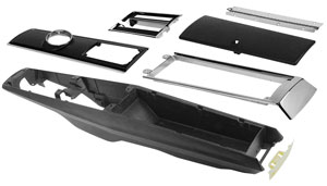 1966-1967 A/T CONSOLE COMPLETE KIT