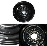 1962-1974 Stock Stamped Steel Wheel for Poverty Hub Caps (14X6)