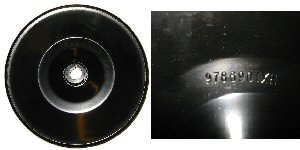 1965 Pontiac GTO LeMans Full Size Power Steering Pulley With AC GM # 9779020