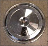 1968-1972  Air Cleaner Lid  - Chrome