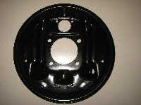 1964-1972 REAR DRUM BACKING PLATE - LH