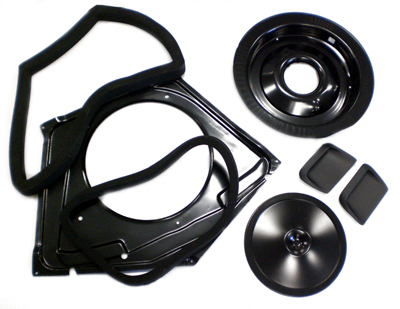 1967-1968 Ram Air Kit For 400 Style Hood