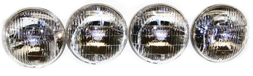 1968-1971 T-3 Headlamp Set - 4Pc