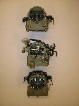 1966 TRI-POWER CARBURETORS - SET OF 3