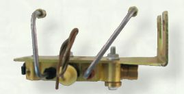 1967-1972 GM Bottom Mount Proportioning Valve Kit. Disc/Drum - Brass