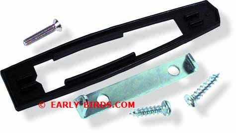 1967-1969 Outer Door Mirror Mounting Kit (non-remote)