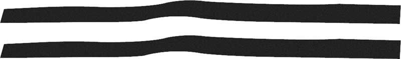 1964-1974 Gas Tank Strap Anti Squeak Kit
