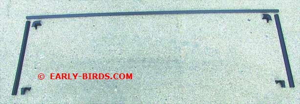1964-1965 Rear Window Trim Set (2 Door Hardtop)
