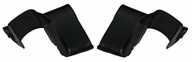 1964-1965 Lower Rear Window Corners - PR