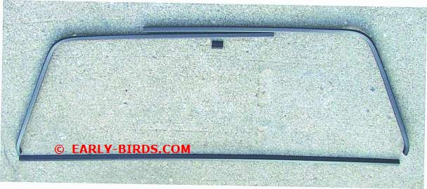 1964-1965 Rear Window Trim Set (2/4 Door Sedan)