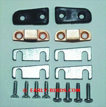 1966-1967 Door Alignment Wedge Set (Hardtop)