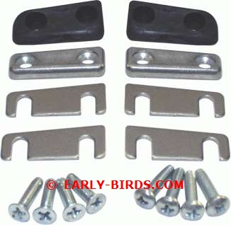 1963 Chevy II/Nova Door Alignment Wedge Set
