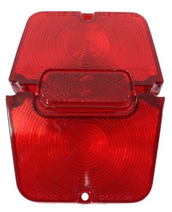1962-1964 Tail Lamp Lens Set (Red)