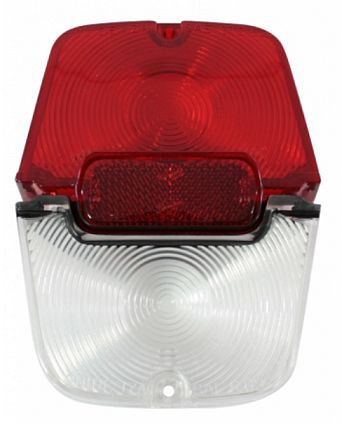 1962-1964 Chevy II/Nova Wagon Tail Lamp Lens Set - 3Pc