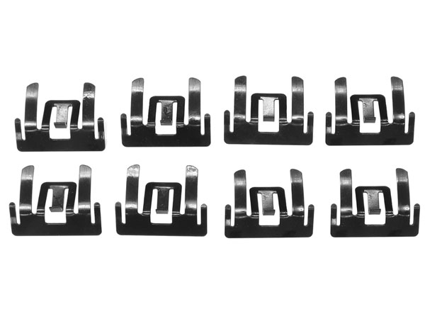 1962-1965 Upper Side Reveal Molding Clips Set - 8Pc