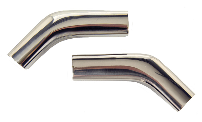 1969-1972 ROOF DRIP MOLDING CORNERS, PAIR