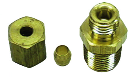 1964-1972 Oil Line Block Fitting (Sleeve Nut)