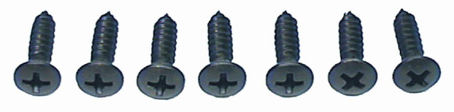 1964-1972 Dash Housing Screw Set (7)